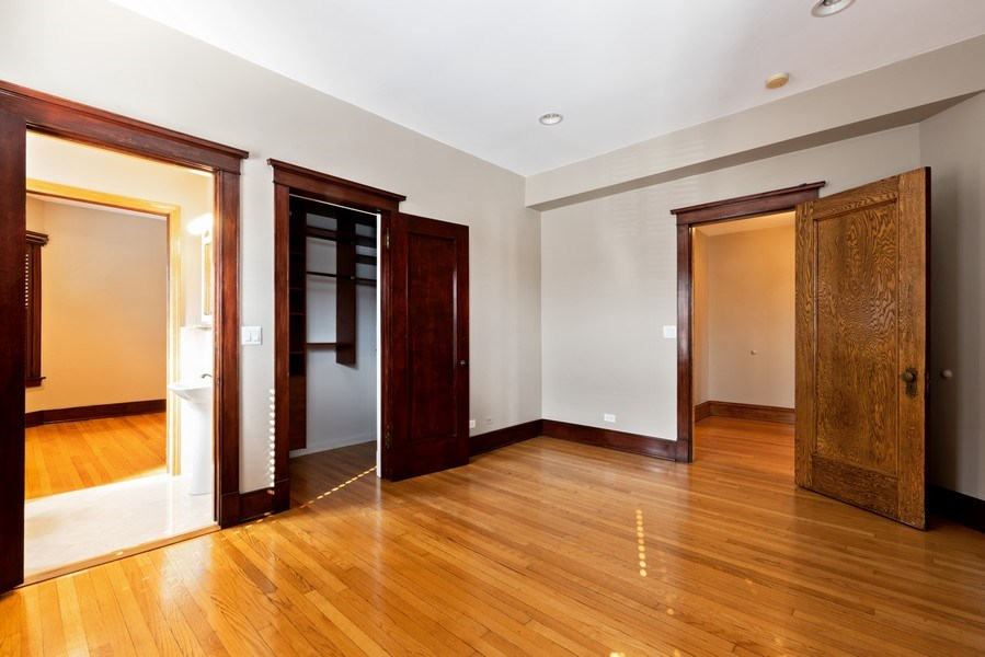 Real Estate Photography - 5356 S Indiana, #2S, Chicago, IL, 60615 - 2nd Bedroom