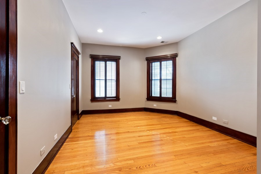 Real Estate Photography - 5356 S Indiana, #2S, Chicago, IL, 60615 - 3rd Bedroom