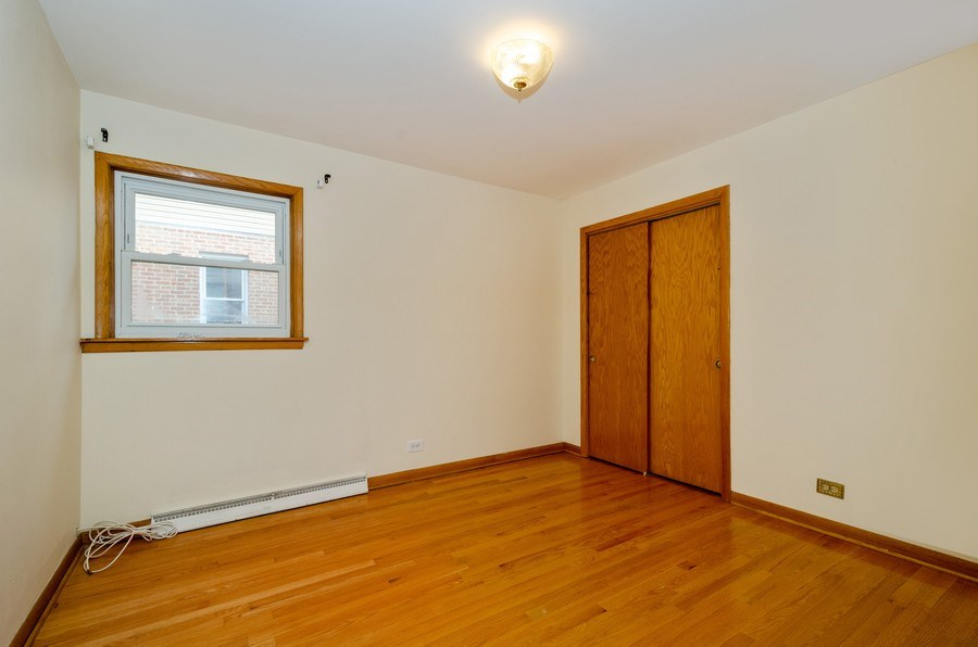 Real Estate Photography - 8738 Stolting, Niles, IL, 60714 - 3rd Bedroom