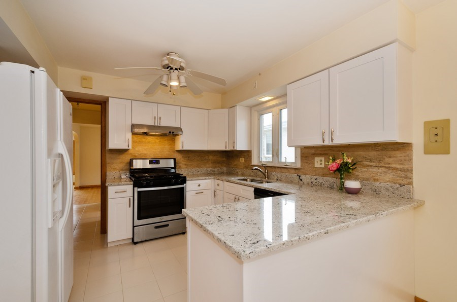 Real Estate Photography - 8738 Stolting, Niles, IL, 60714 - Kitchen