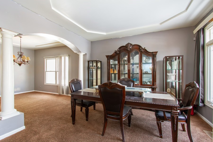 Real Estate Photography - 14 Pembrook Ct, Flossmoor, IL, 60422 - Dining Room
