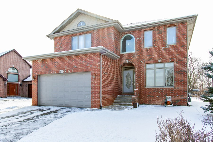 Real Estate Photography - 14 Pembrook Ct, Flossmoor, IL, 60422 - Front View