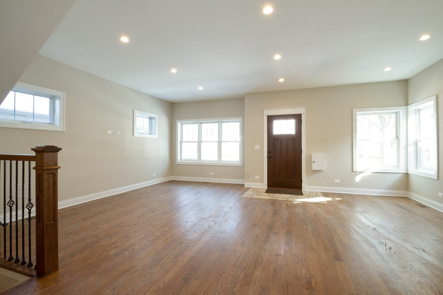 Real Estate Photography - 7452 N Ottawa, Chicago, IL, 60631 - Living Room