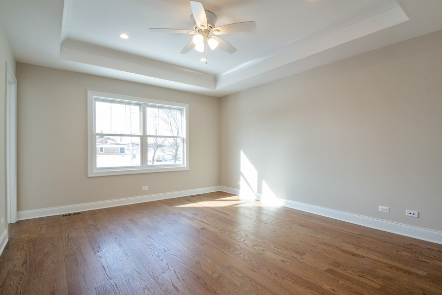Real Estate Photography - 7452 N Ottawa, Chicago, IL, 60631 - Master Bedroom