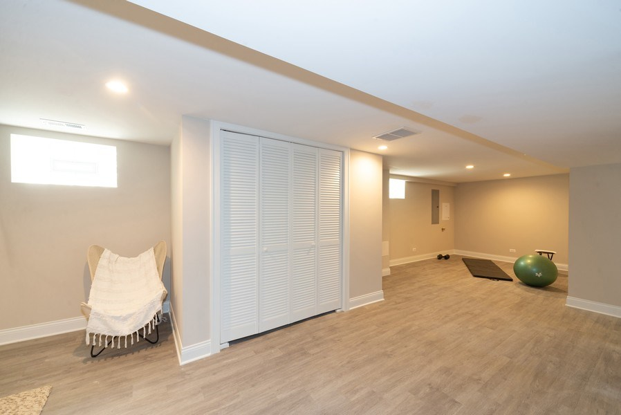 Real Estate Photography - 7452 N Ottawa, Chicago, IL, 60631 - Lower Level