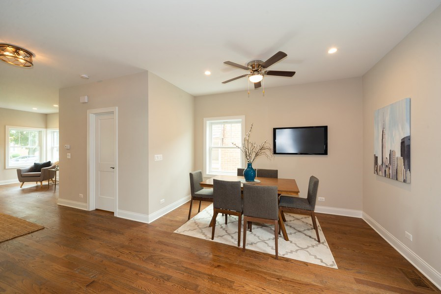 Real Estate Photography - 7452 N Ottawa, Chicago, IL, 60631 - Dining Room