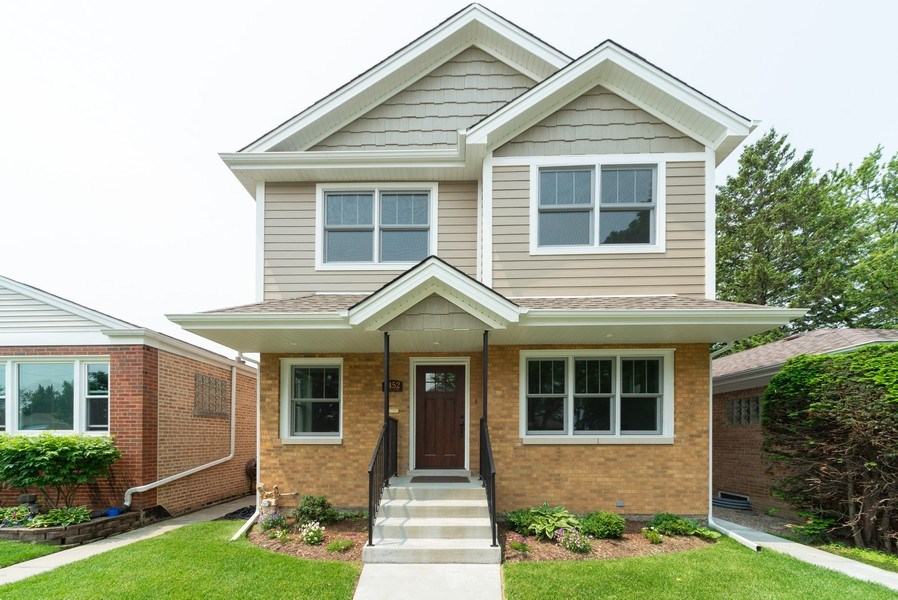 Real Estate Photography - 7452 N Ottawa, Chicago, IL, 60631 - Front View