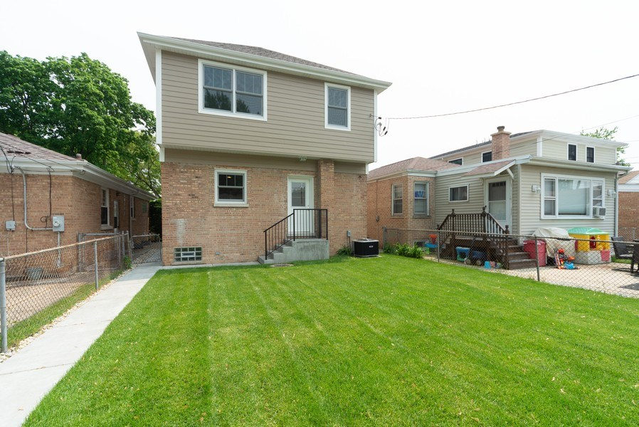 Real Estate Photography - 7452 N Ottawa, Chicago, IL, 60631 - Rear View