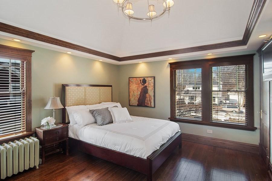 Real Estate Photography - 797 Laurel, Des Plaines, IL, 60016 - Master Bedroom