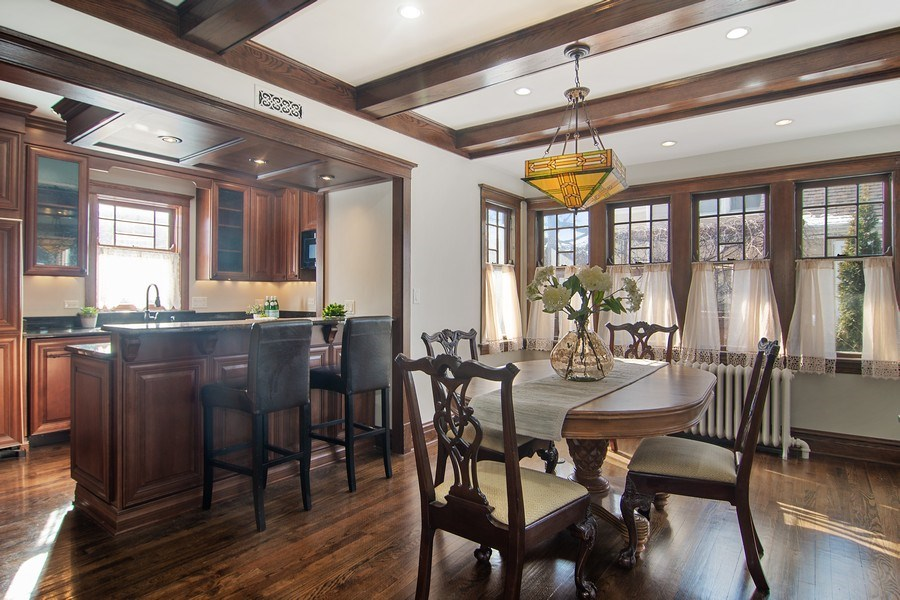Real Estate Photography - 797 Laurel, Des Plaines, IL, 60016 - Kitchen / Breakfast Room