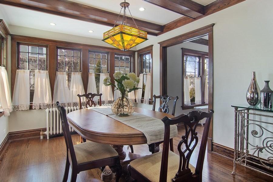 Real Estate Photography - 797 Laurel, Des Plaines, IL, 60016 - Dining Room