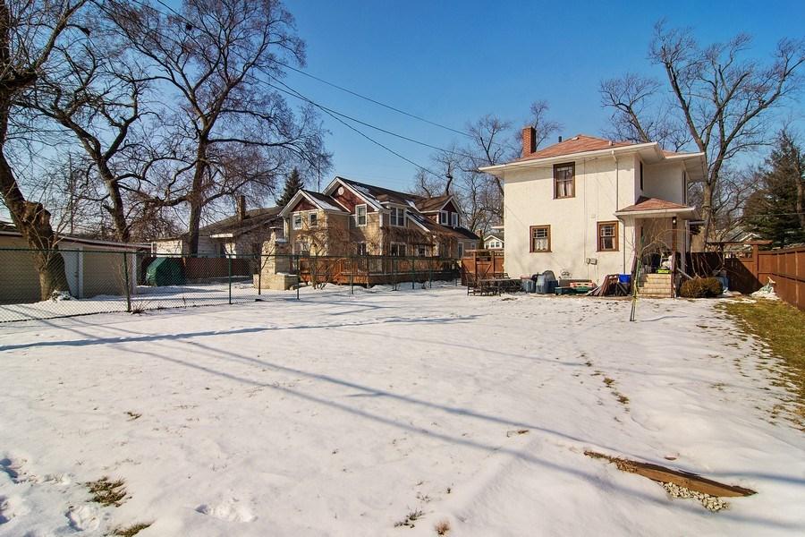 Real Estate Photography - 797 Laurel, Des Plaines, IL, 60016 - Rear View