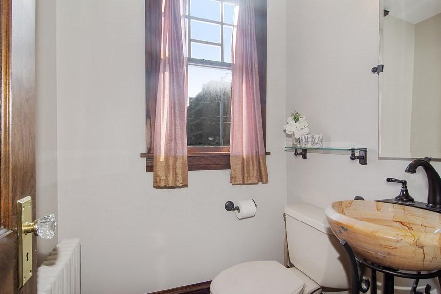 Real Estate Photography - 797 Laurel, Des Plaines, IL, 60016 - Half Bath