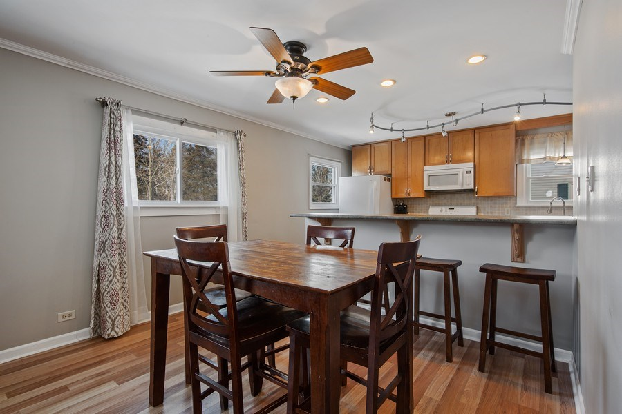 Real Estate Photography - 601 N Grace st, lombard, IL, 60148 - Dining Room
