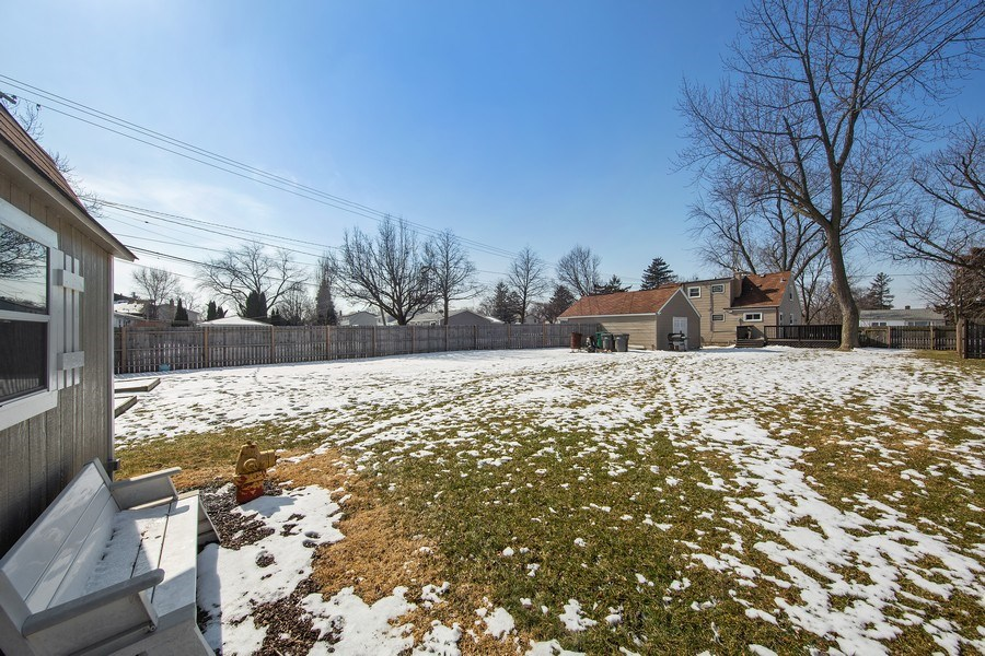 Real Estate Photography - 601 N Grace st, lombard, IL, 60148 - Back Yard