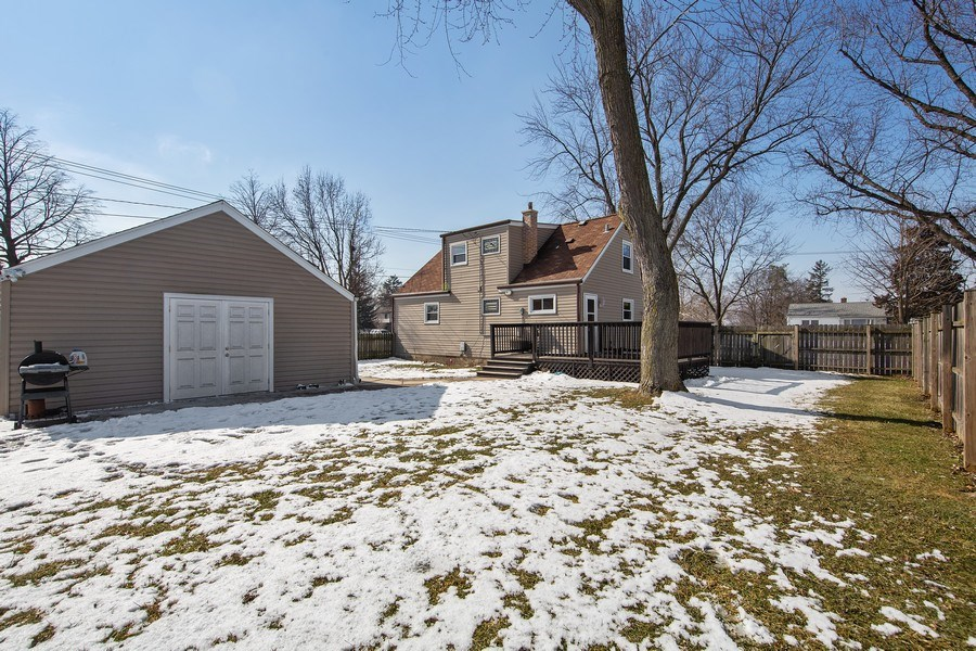 Real Estate Photography - 601 N Grace st, lombard, IL, 60148 - Rear View