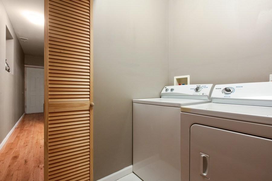 Real Estate Photography - 3022 W Washington, 2, Chicago, IL, 60612 - Laundry Room