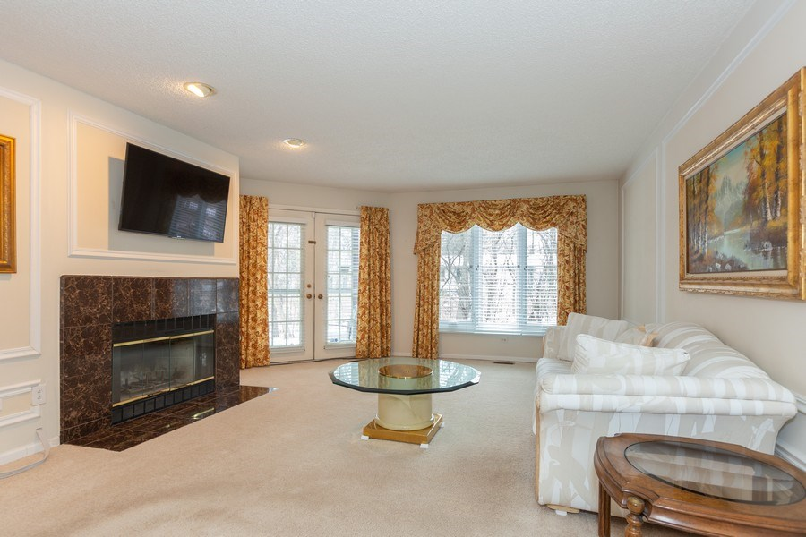 Real Estate Photography - 1115 Mistwood Lane, Downers Grove, IL, 60515 - Living Room