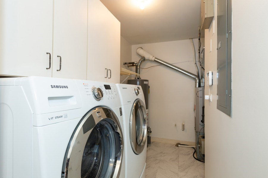 Real Estate Photography - 1115 Mistwood Lane, Downers Grove, IL, 60515 - Laundry Room