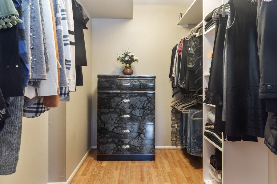 Real Estate Photography - 505 S. Cleveland Ave. #204, Arlington Heights, IL, 60005 - Master Bedroom Closet