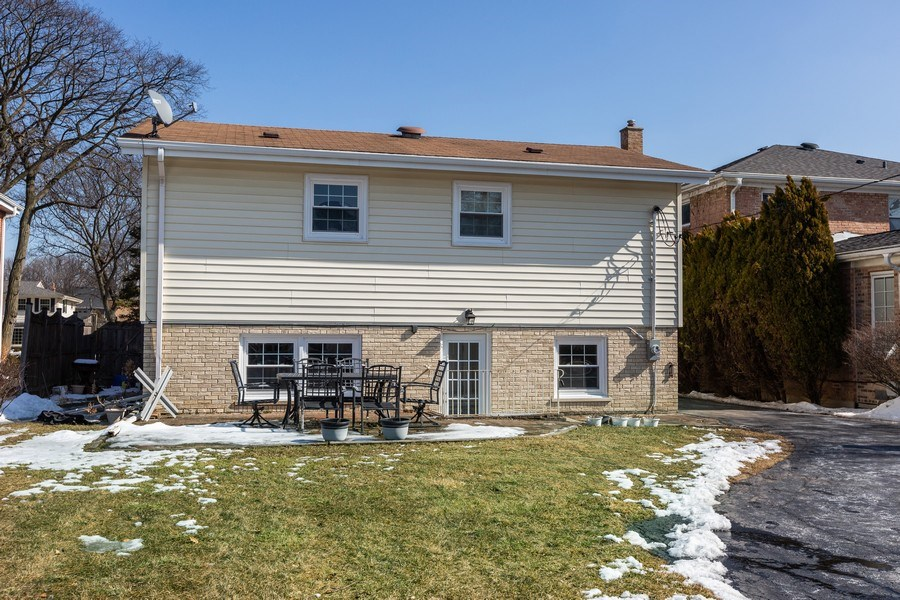 Real Estate Photography - 5236 Grand Ave, Western Springs, IL, 60558 - Rear View