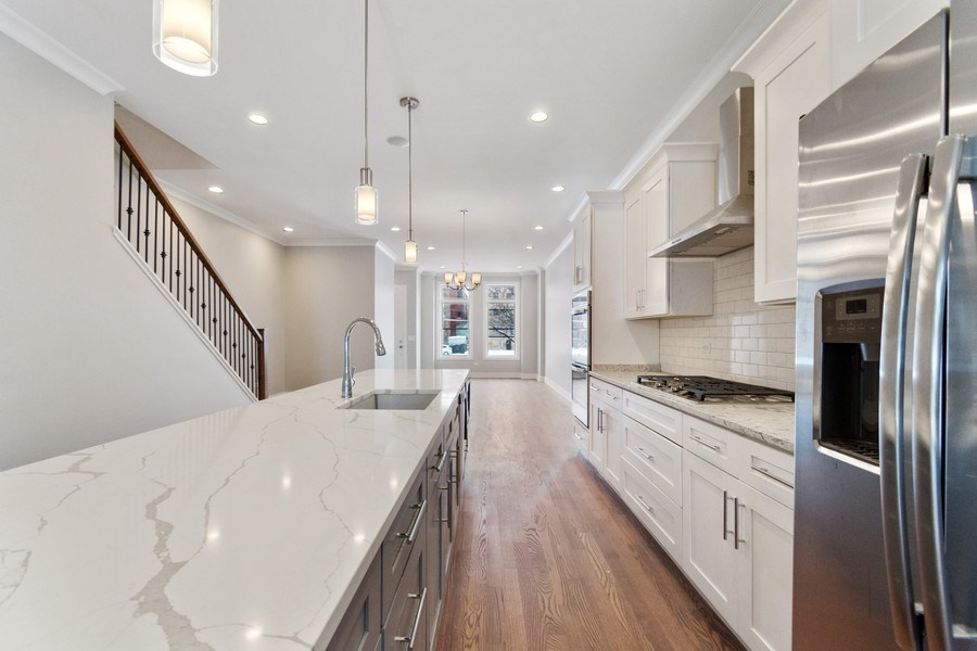 Real Estate Photography - 4714 S Calumet, Chicago, IL, 60653 - Kitchen