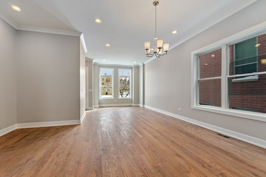 Real Estate Photography - 4714 S Calumet, Chicago, IL, 60653 - Dining Room