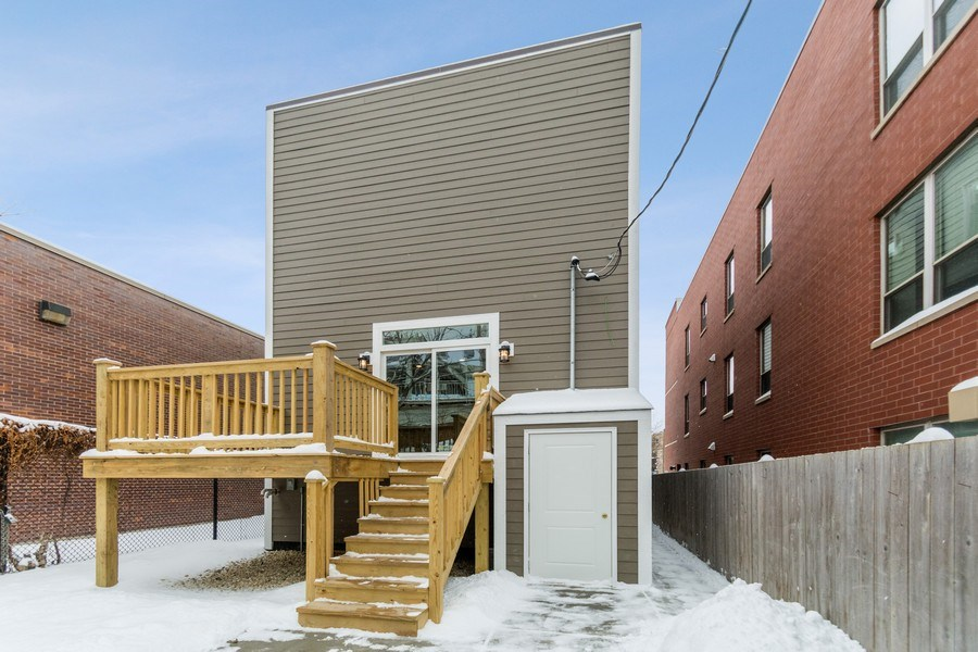 Real Estate Photography - 4714 S Calumet, Chicago, IL, 60653 - Rear View