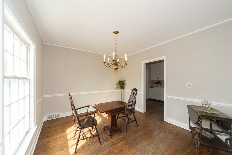Real Estate Photography - 1014 S Chester, Park Ridge, IL, 60068 - Dining Room