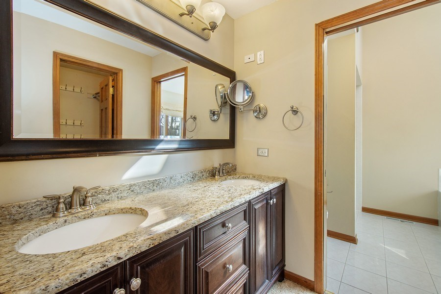 Real Estate Photography - 3015 Woods Creek Lane, Algonquin, IL, 60102 - Master Bathroom