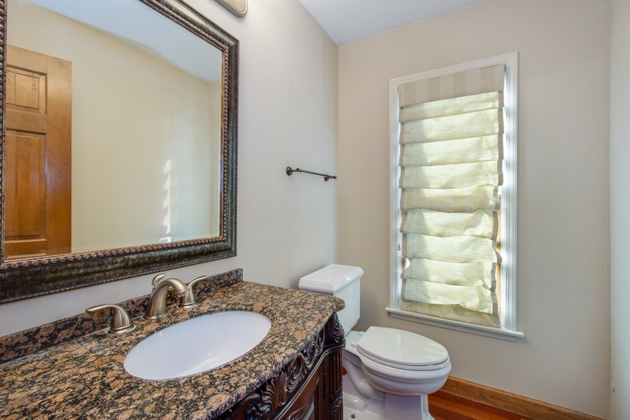 Real Estate Photography - 3015 Woods Creek Lane, Algonquin, IL, 60102 - Powder Room