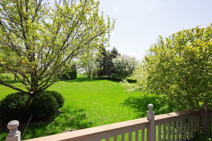 Real Estate Photography - 3015 Woods Creek Lane, Algonquin, IL, 60102 - Back Yard