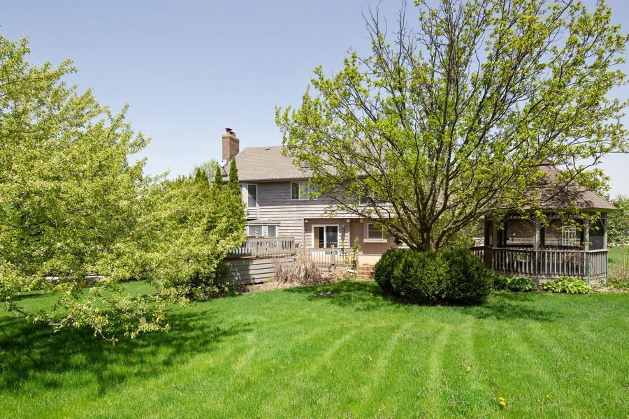 Real Estate Photography - 3015 Woods Creek Lane, Algonquin, IL, 60102 - Rear View