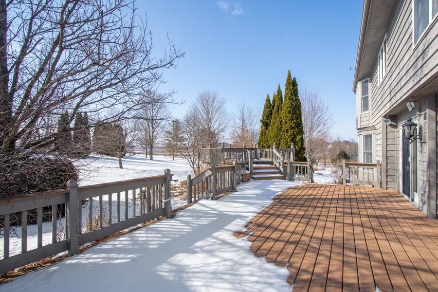 Real Estate Photography - 3015 Woods Creek Lane, Algonquin, IL, 60102 - Deck