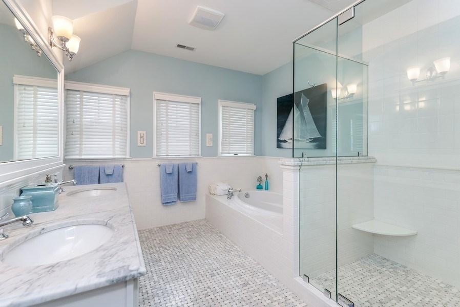 Real Estate Photography - 59 North Shore Drive, South Haven, MI, 49090 - Master Bathroom