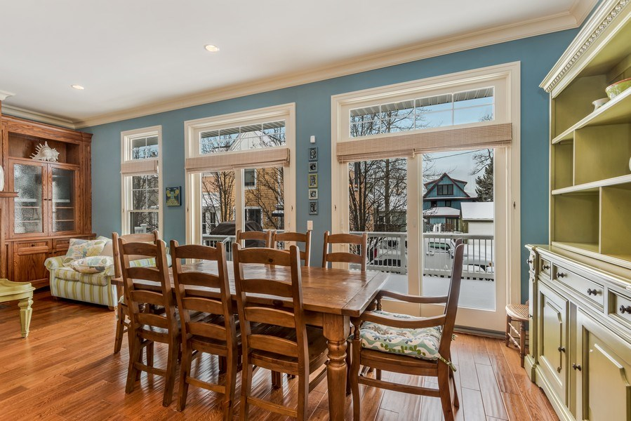 Real Estate Photography - 59 North Shore Drive, South Haven, MI, 49090 - Dining Area