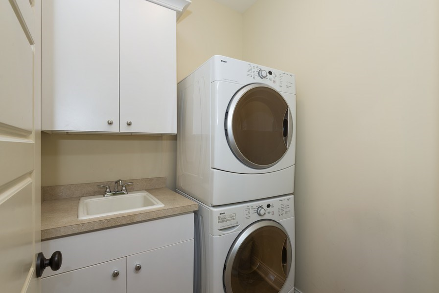 Real Estate Photography - 59 North Shore Drive, South Haven, MI, 49090 - Laundry Room