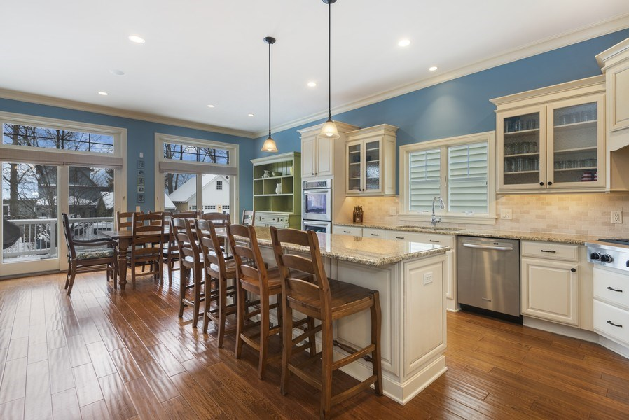 Real Estate Photography - 59 North Shore Drive, South Haven, MI, 49090 - Kitchen / Dining Room