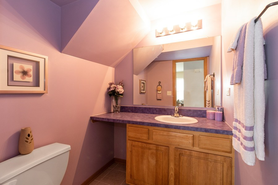 Real Estate Photography - 1434 Fox Hound Trail, Beecher, IL, 60401 - Bathroom
