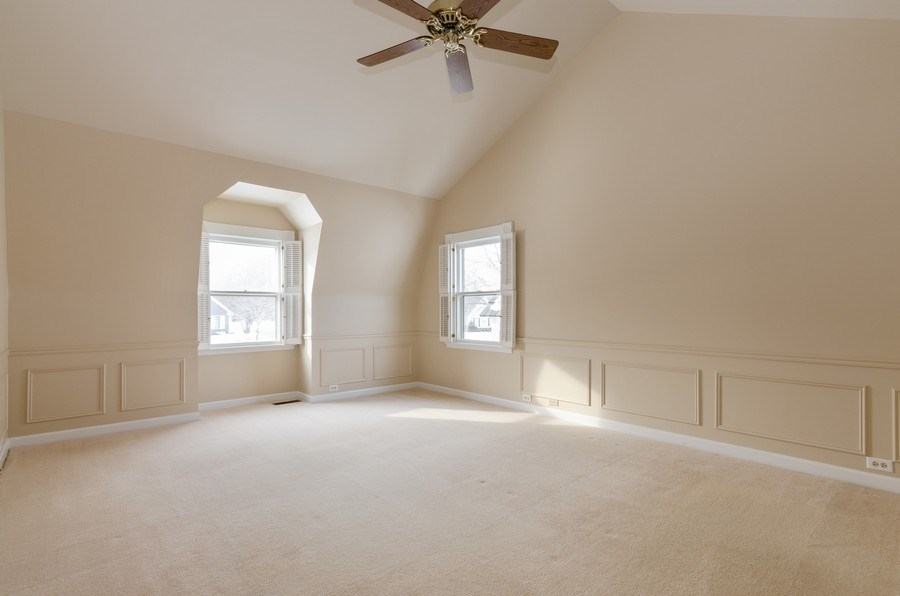 Real Estate Photography - 20587 Swansway, Deer Park, IL, 60010 - Master Bedroom
