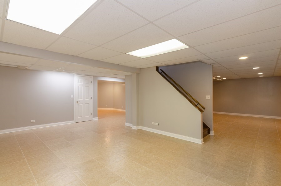 Real Estate Photography - 20587 Swansway, Deer Park, IL, 60010 - Basement