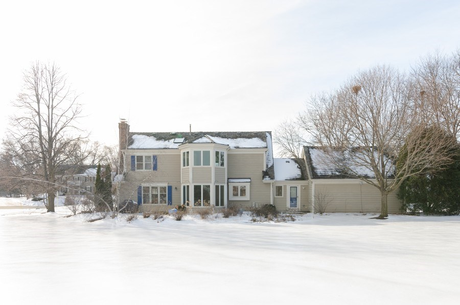 Real Estate Photography - 20587 Swansway, Deer Park, IL, 60010 - Rear View