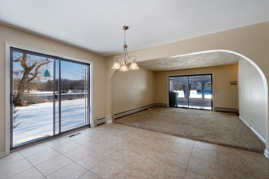 Real Estate Photography - 57 Flint Drive (aka 23203 N. Flint Drive), Lake Barrington, IL, 60010 - Breakfast Area