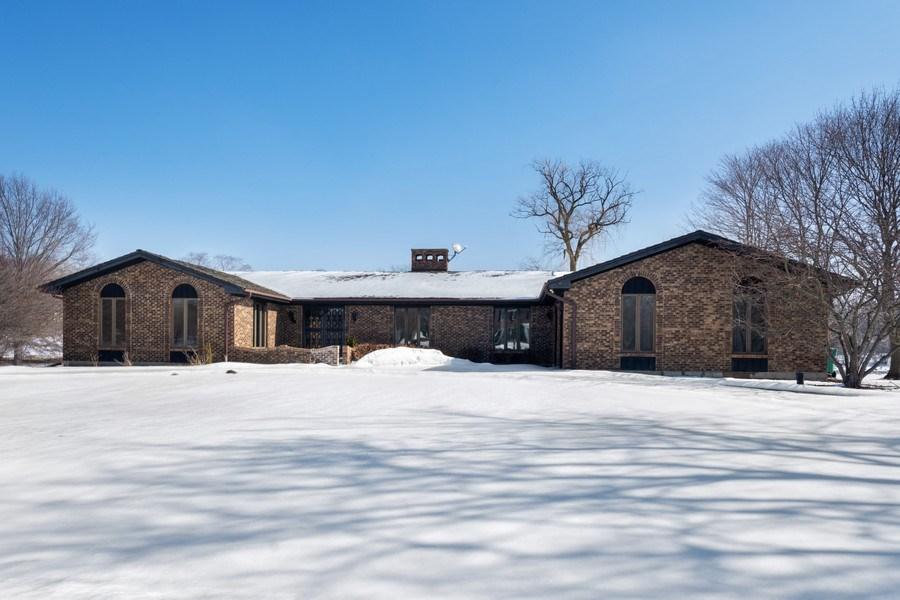 Real Estate Photography - 57 Flint Drive (aka 23203 N. Flint Drive), Lake Barrington, IL, 60010 - Front View