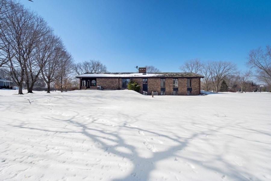 Real Estate Photography - 57 Flint Drive (aka 23203 N. Flint Drive), Lake Barrington, IL, 60010 - Rear View