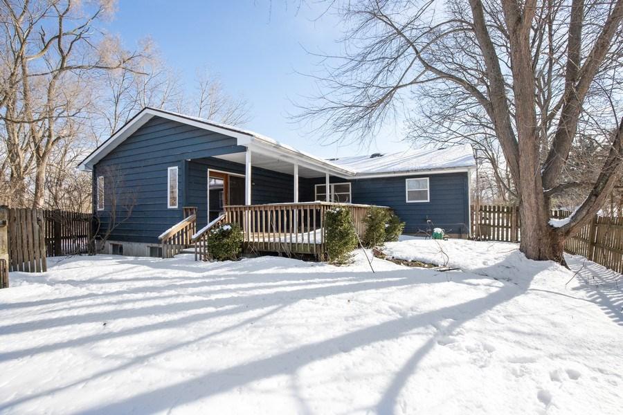 Real Estate Photography - 2510 Carmel Blvd., Zion, IL, 60099 - Rear View