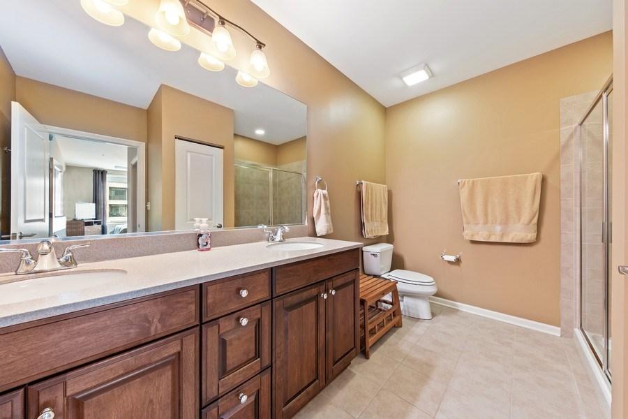 Real Estate Photography - 801 Village Center Dr #201, Burr Ridge, IL, 60527 - Master Bathroom