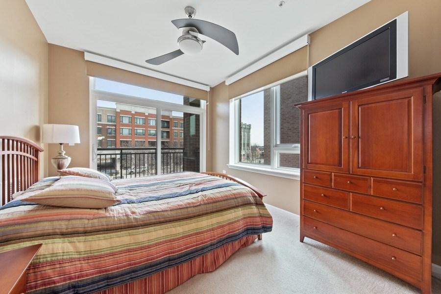 Real Estate Photography - 801 Village Center Dr #201, Burr Ridge, IL, 60527 - Bedroom