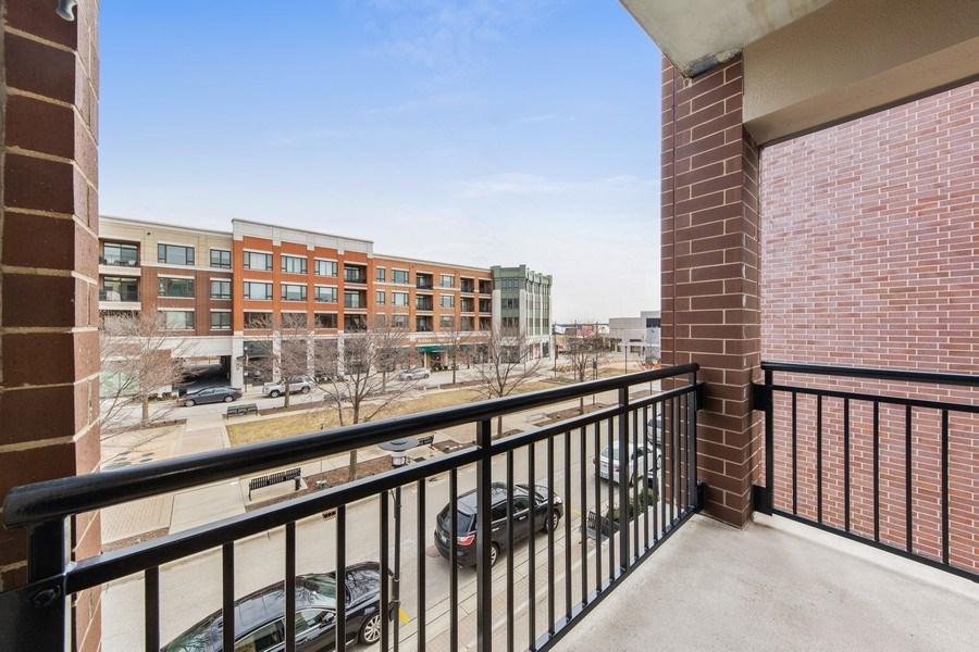 Real Estate Photography - 801 Village Center Dr #201, Burr Ridge, IL, 60527 - Balcony
