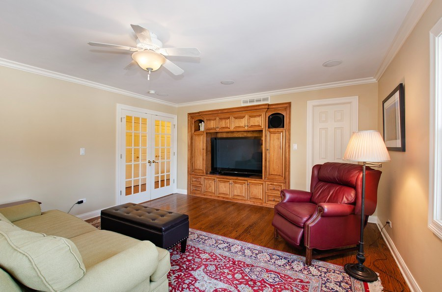 Real Estate Photography - 2800 Romona Court, Wilmette, IL, 60091 - Bedroom 5 En-Suite (Currently used as Upstairs Add